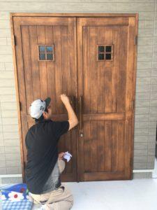 N様邸 メンテナンス造作ドア