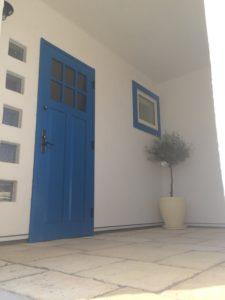 サントリーニ島ヴィラ風注文住宅外観写真2