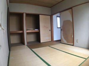 リノベーション前和室の写真