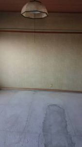 リフォーム前の和室だったお部屋の写真
