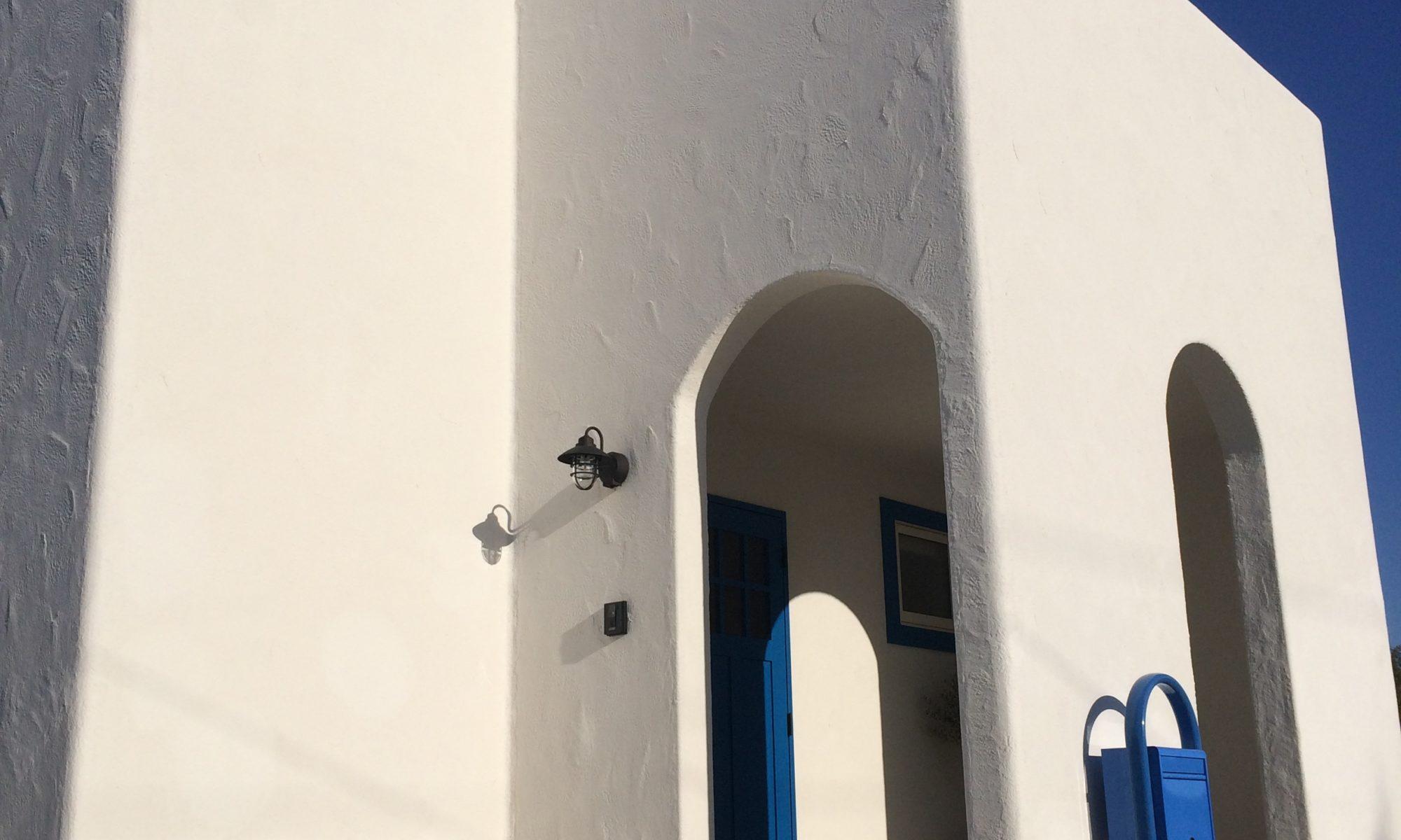 ヴィラ風注文住宅の外観写真1